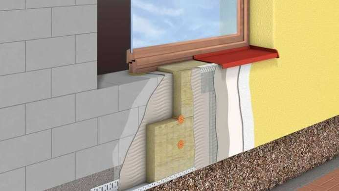 Утепление дома из газобетона